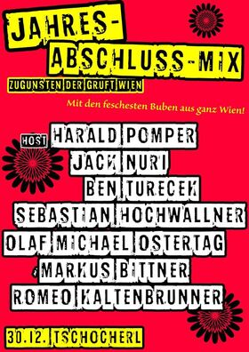 Bild: Silvester Kabarett-Mix - Benefiz zugunsten der GRUFT - Wien