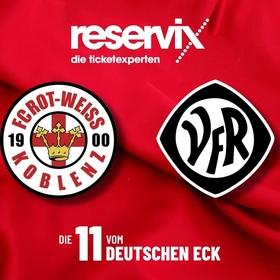 Bild: FC Rot-Weiss Koblenz - VfR Aalen