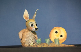 Bild: Der dicke fette Pfannkuchen - Moussong- Puppentheater für Kinder von 3 - 10 Jahre