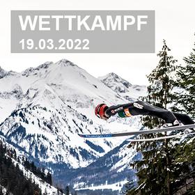Bild: FIS Weltcup Skifliegen   Einzelwettkampf Samstag