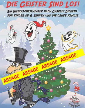 Bild: Die Geister sind los! - Weihnachtstheater für Kinder ab 5 Jahren!