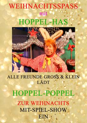 Bild: Weihnachtsspass mit Hoppel-Has -