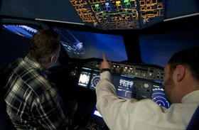 A380 Flugsimulator  | PREMIUM TICKET PLUS 120 Min.