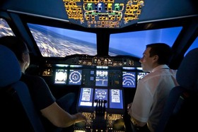 A380 Flugsimulator  | PREMIUM TICKET 90 Min.