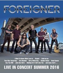 Bild: FOREIGNER Open Air - The 40th ANNIVERSARY TOUR    Einlass 17:30Uhr
