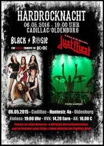 Bild: Black/Rosie & Just Priest verlegt ins Amadeus Oldenburg!! - A Tribute To The Metal Gods