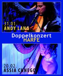 Bild: ANDY LANG + ASSIA CUNEGO Kombi-Ticket 31.01. + 20.02.