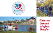 """Bild: """"Dünen- und Seenlandschaft um Frankfurt"""""""