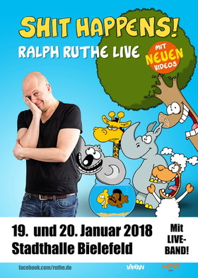 Ralph Ruthe - Shit Happens - Spezial mit seiner Band We Are Linus