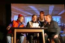 Das bayerische Kriminal Komödien Dinner im Brandenburger Wirtshaus in Nürnberg