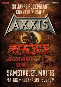 Bild: AXXIS & REFUGE - Scanner, Air Raid, CrashGate6