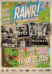 Bild: EMP präsentiert RAWR! Party & Live - 2 Year Anniversary mit John Coffey, The Tips, Wildways, For I Am King & Heck