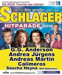 Bild: Deutsches Musikfernsehen präsentiert: Die große Schlager Hitparade - mit G.G.Anderson, Andreas Martin, Andrea Jürgens, Calimeros