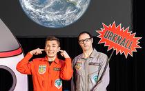 Bild: Schlau hoch 2 - Vince und Eric reisen zu den Sternen