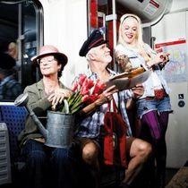 Bild: Freie Fahrt ins Glück - Nächster Halt: Garten der Träume