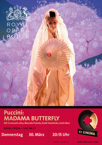 Bild: ROYAL OPERA HOUSE in London live im C1: Puccini MADAMA BUTTERFLY