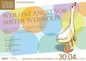 Bild: 3. Familienkonzert - Mr. Werwolf