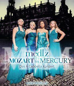 Bild: Medlz a-cappella - Von Mozart bis Mercury