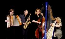 Bild: Quadro Nuevo - Open Air Konzert