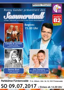 Bild: Sommerstadl - Schlager & Volksmusik Open Air Parkbühne Fürstenwalde