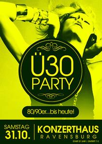 Bild: Ü30 Party