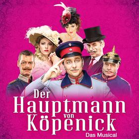 Bild: Der Hauptmann von Köpenick - Das Berlin Musical 2017