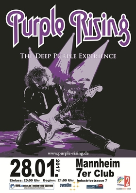 Bild: Purple Rising - Deep Purple Tribute
