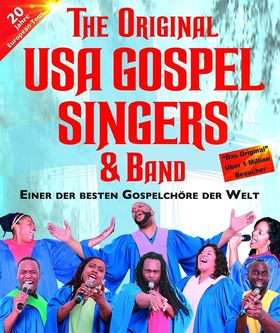 Bild: Bühne 79379 - The Original USA Gospel Singers & Band