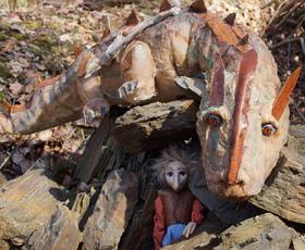 Bild: Der kleine Georg, das Echo und der Drache - guck'mal Figurentheater