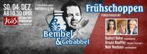 Bembel und Gebabbel - Der Talk mit Bernd Reisig - Power-Frauen - mit Radost Bokel, Ursula Bouffier und Nele Neuhaus
