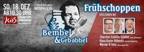 Bembel und Gebabbel - Der Talk mit Bernd Reisig - Spielführer - mit Thorsten Schäfer-Gümbel, Hans-Dieter Hillmoth und Werner D´Inka
