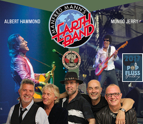 Bild: ALBERT HAMMOND & MANFRED MANN's EARTH BAND & MUNGO JERRY - Pop am Fluss 2017 - Weilburg - Rocknacht der Legenden