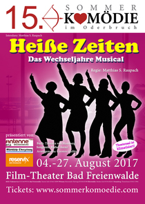 Bild: 15. Sommerkomödie im Oderbruch - Heiße Zeiten- Das Wechseljahre Musical