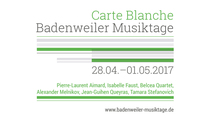 Bild: Badenweiler Musiktage Frühjahr 2017