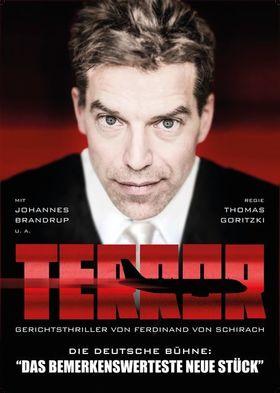 Bild: TERROR - Darf ein Staat zur Terrorabwähr töten?                                  Schauspiel mit Johannes Brandrup