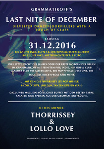 Bild: Last Nite 2016 - Silvester - Silverster Party inkl. Buffet & Mitternachts-Sekt