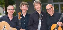 Das GuitArt-Quartett - Zeit für Musik