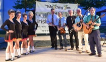 Bild: Matching Ties & O'Brannlaig Rinceoir Irish Dancers - Irish Folk Night