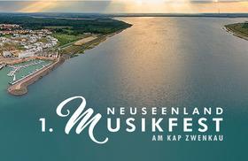 1. Neuseenland Musikfest - am Kap Zwenkau - 3 Tages Ticket
