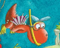 Bild: Der kleine Drache Kokosnuss rettet die Welt (ab 4 Jahren)