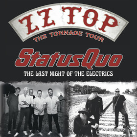 Bild: ZZ Top & Status Quo - The Tonnage Tour