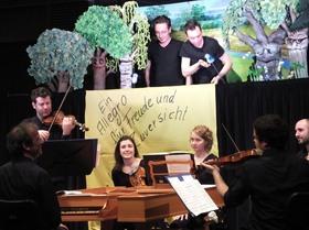"""Bild: Concertatio in Silva – Der Streit im Walde Eine Inszenierung zur Musik von Antonio Vivaldis """"Vier Jahreszeiten"""""""