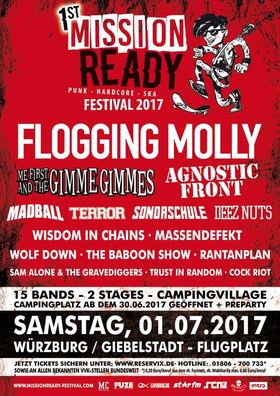 Bild: Mission Ready Festival 2017 - PUNK HARDCORE SKA