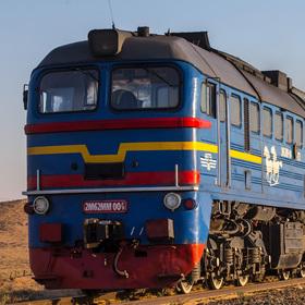 Bild: Transsibirische Eisenbahn