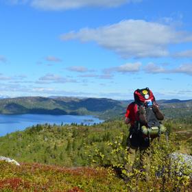 Bild: Norwegen - der Länge nach!  3000km zu Fuß bis zum Nordkap