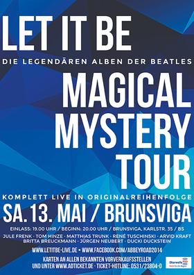 Bild: Magical Mystery Tour & Let It Be - Zwei legendäre Alben der Beatles komplett live!