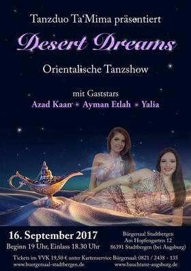 Bild: Orientalische Tanzshow - Desert Dreams