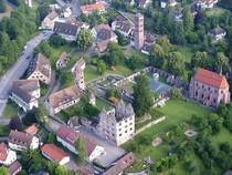 Bild: Kloster und Wein