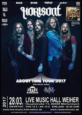 Bild: Horisont - About Time Tour 2017 - Spezial Gueasts:   `77 + Black Mirrirs