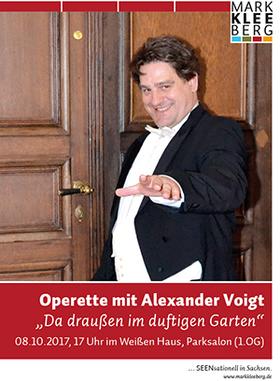 Bild: Operette mit Alexander Voigt